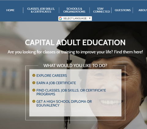 Capital Adult Education